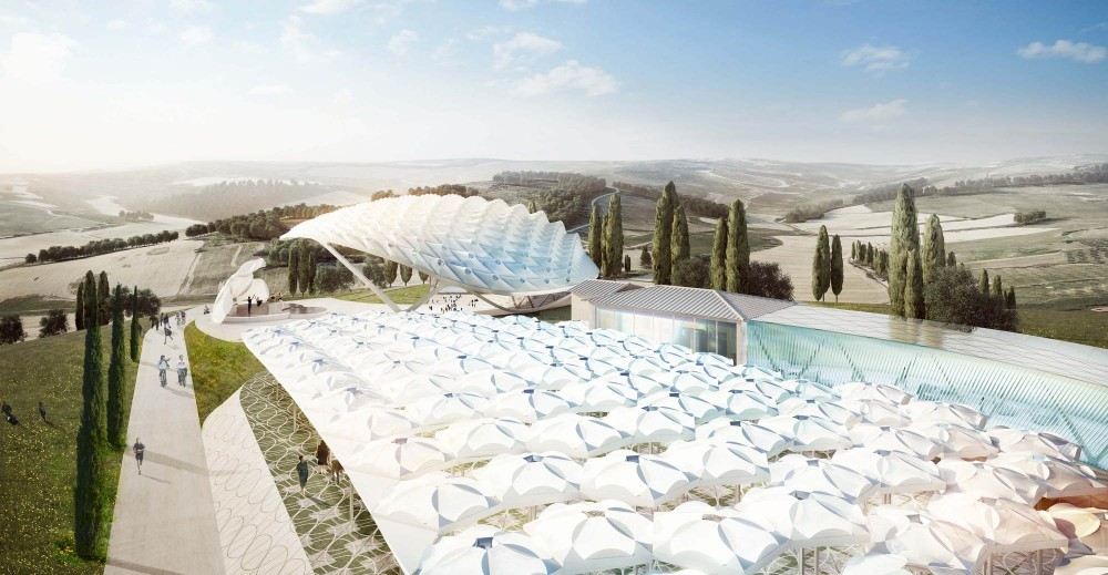 "Asymptote Architecture to Design ""Park of Angels"" in Italy"